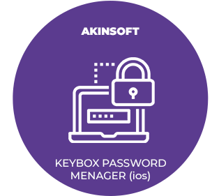 AKINSOFT KeyBox Password Manager (IOS)
